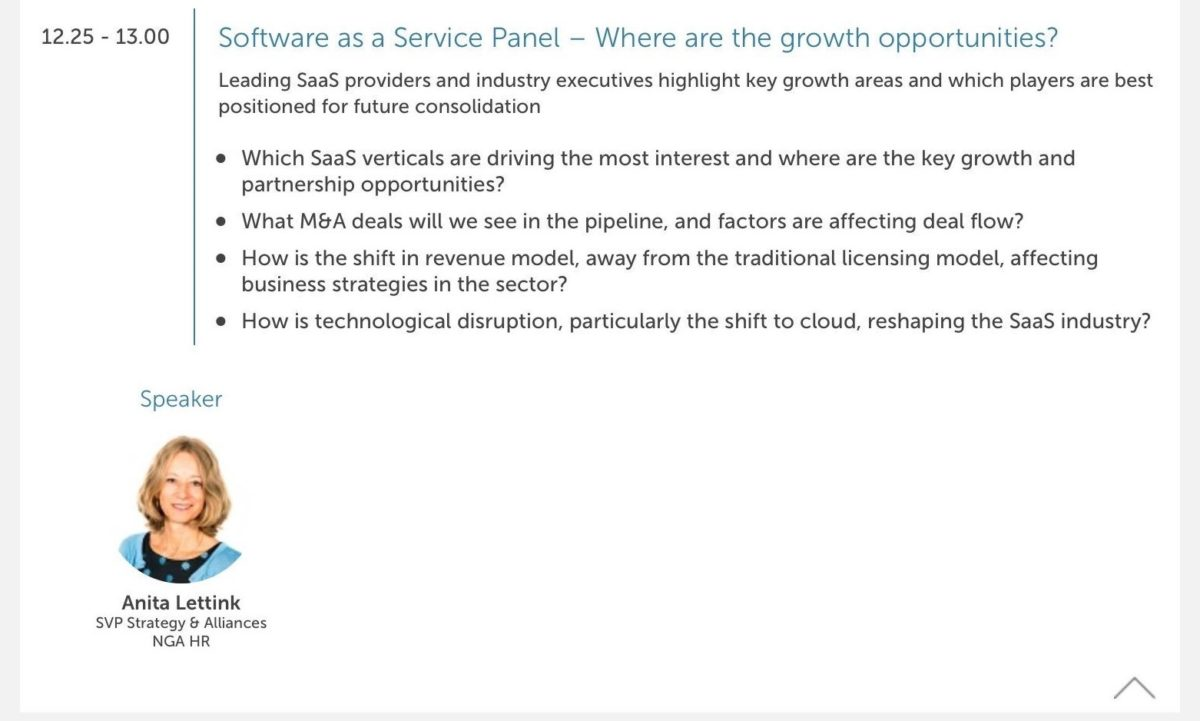 Software as a Service key discussion topics