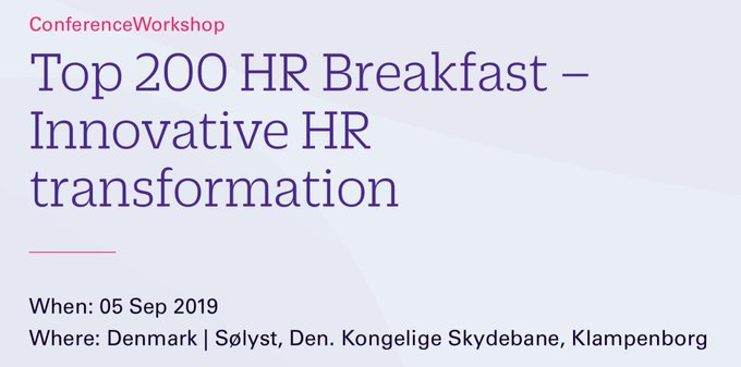 Invitiation for Top 200 - Innovative HR Transformation