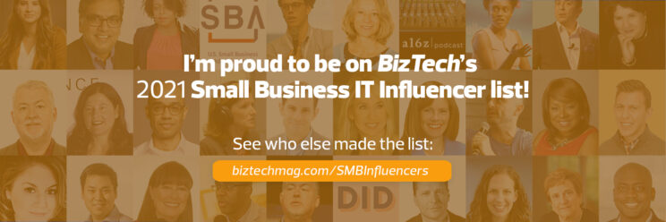 2021 Top 30 Small Business IT Influencers